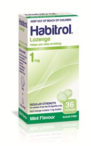 1mg Habitrol Lozenges - 3 packs